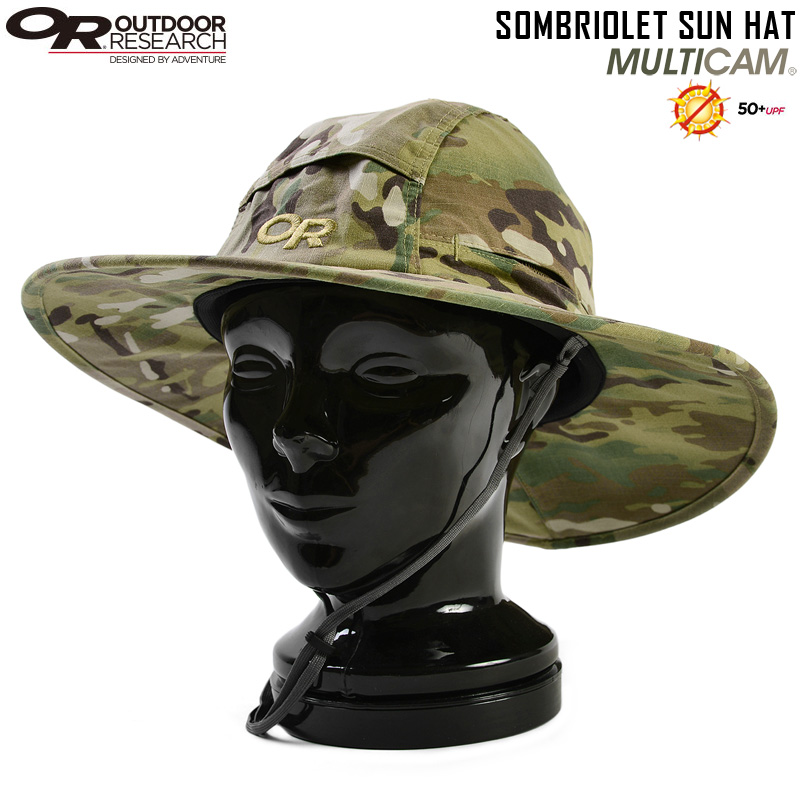 a23c3523ce8 OUTDOOR RESEARCH outdoor research SOMBRIOLET (ソンブリオレット) sun hat MultiCam  OUTDOOR RESEARCH outdoor research hat ultraviolet rays measures goods ...