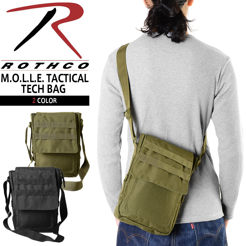 Rothco Rothko 9760 M O L E Tactical Tech Bags 2 Color Military Shoulder Bag Men S Commute