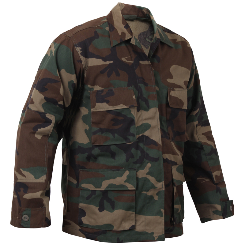 13f2f2895683c Military select shop WAIPER: ROTHCO Roscoe CAMO BDU shirt jacket ...