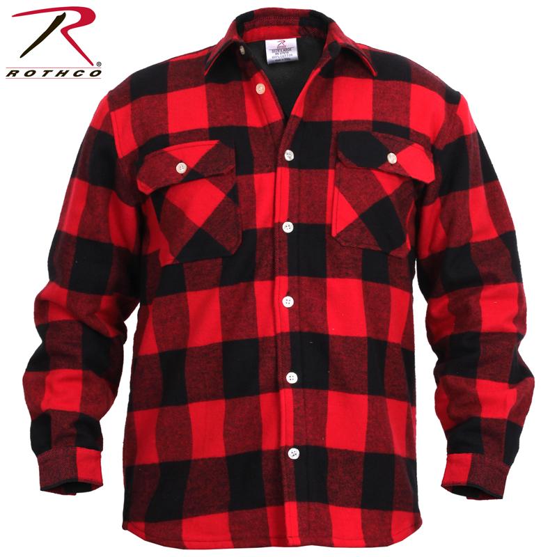 ROTHCO ロスコ フリースライナー フランネルシャツ 2739 ネルシャツ 裏地 フリース メンズ トップス チェックシャツ 長袖シャツ