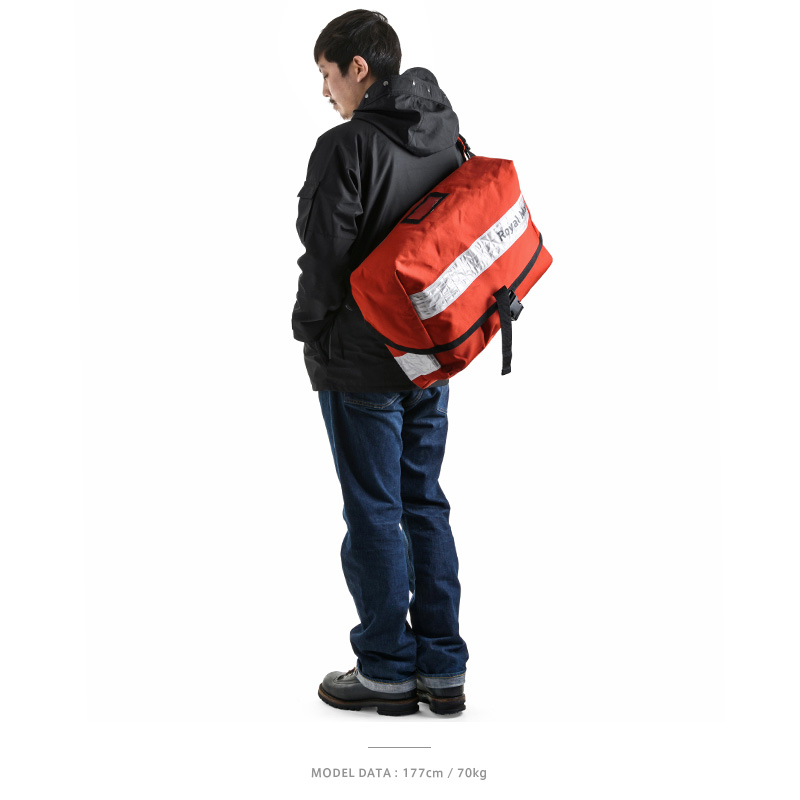 The State-owned company Royal Mail plays in the actual British ROYAL MAIL  Messenger bag white reflector United Kingdom postal Messenger bag 06508d975e04a