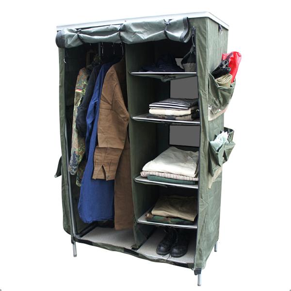 真正的法國軍隊折疊櫃使用