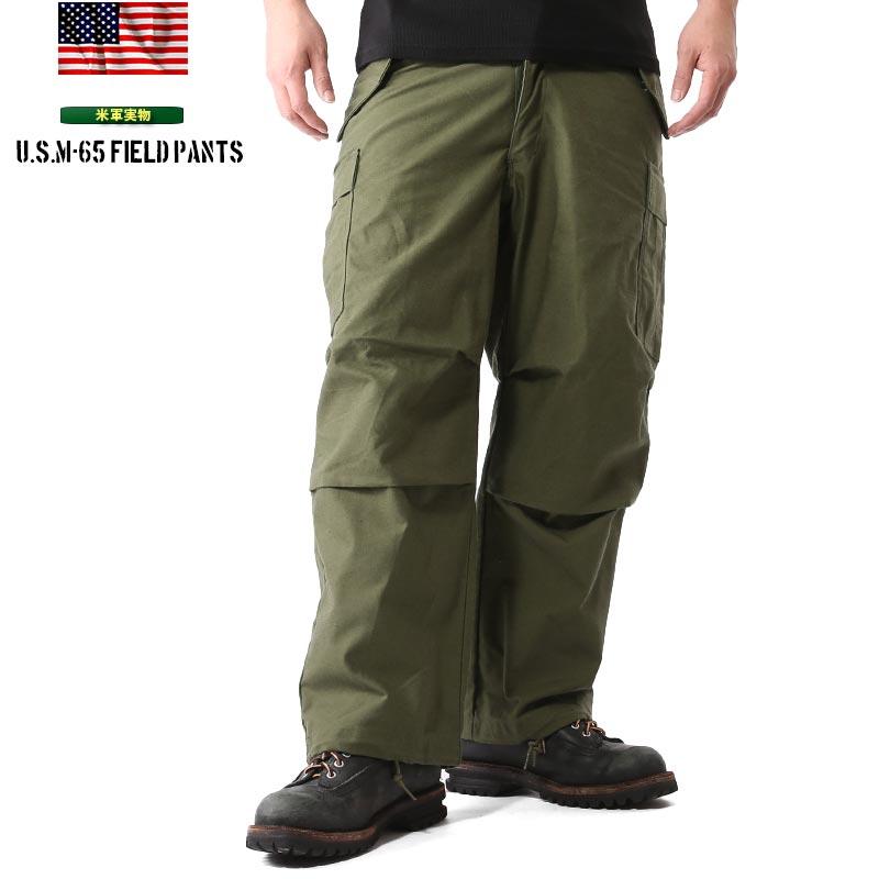 実物 新品 米軍 M-65 フィールドカーゴ パンツ 【クーポン対象外】《WIP03》 #m65cargopants