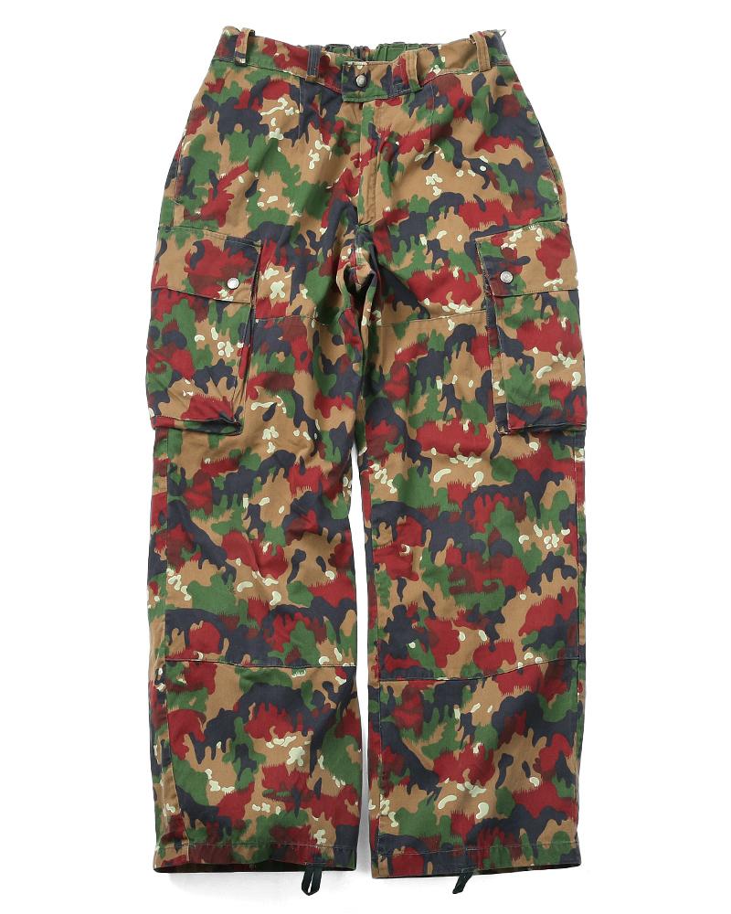 65 場褲子使用阿爾卑斯山迷彩軍米 83 瑞士真正的麵包
