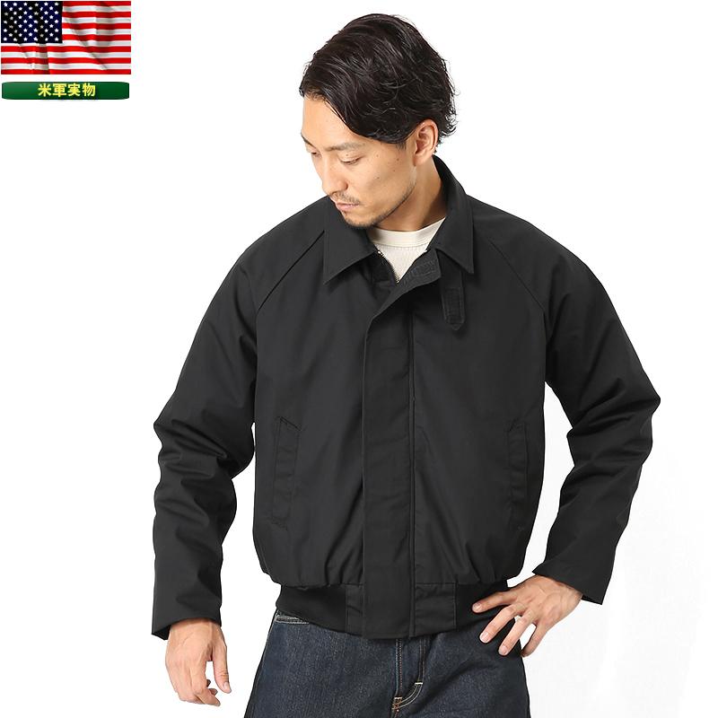 【実物放出品25%OFFセール】実物 新品 米海軍 ユーティリティージャケット BLACK《WIP03》