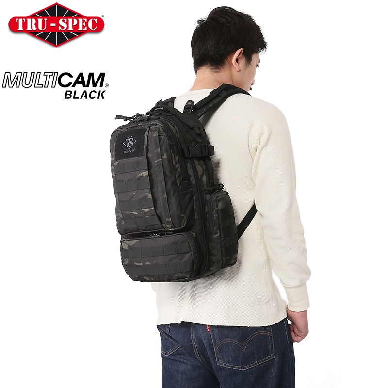 TRU-SPEC トゥルースペック CIRCADIAN バックパック MultiCam Black 【TRU-SPEC】【マルチカムブラック】【ミリタリー】 【サバゲー】【迷彩】【カモフラ】 【タクティカル】【メンズ】《WIP03》 【クーポン対象外】