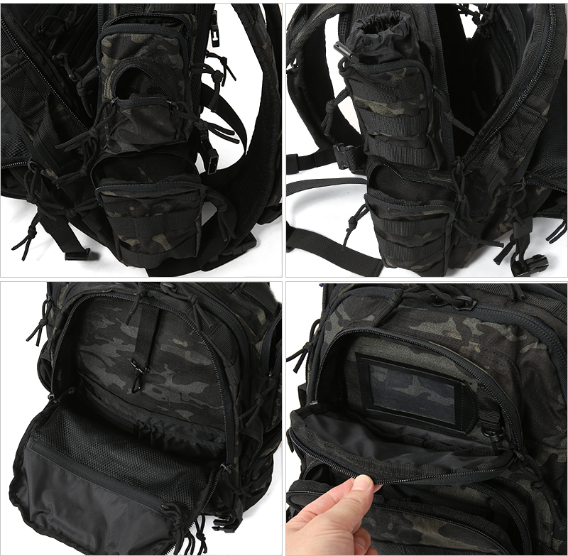 Tru Spec True Tour Of Duty Lite Backpack Multicam Black 4813 Military Bag Daypack Assault Camouflage With Sabage Outdoor Men