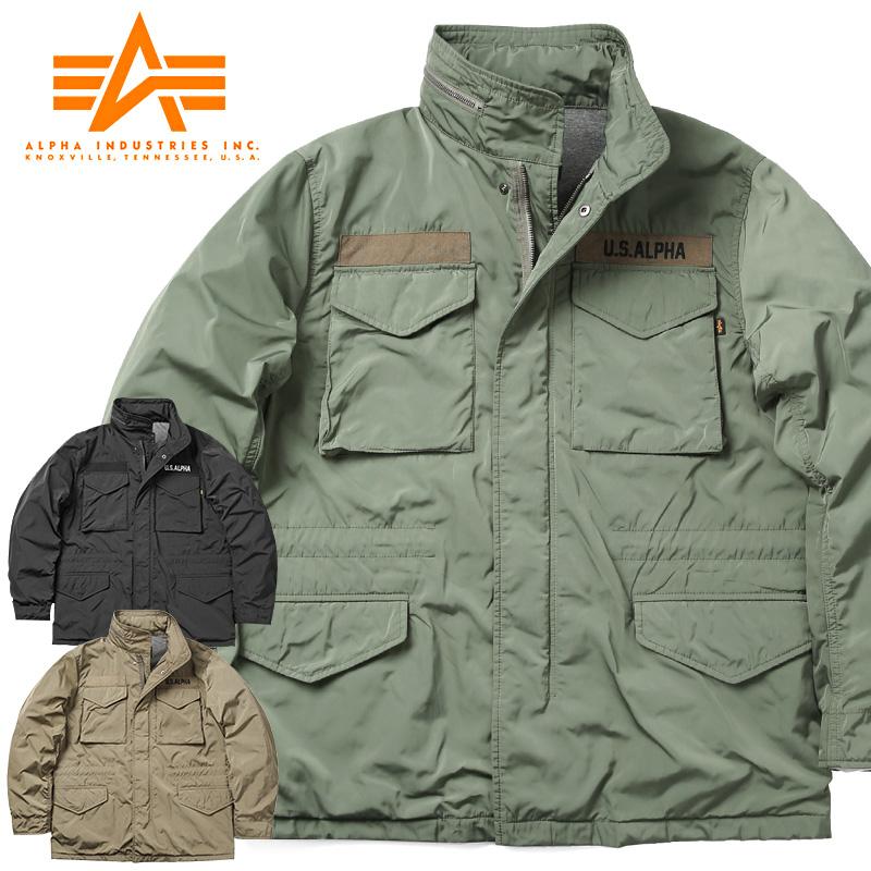 ALPHA アルファ TA1452 BONDING M-65フィールドジャケット