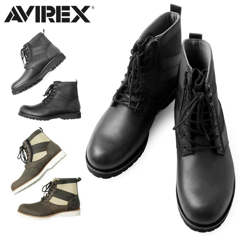 AVIREX アビレックス AV2005 VANGUARD ブーツ【クーポン対象外】