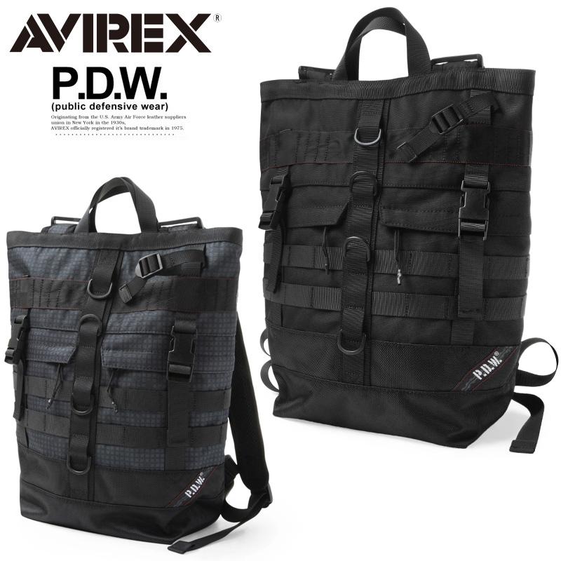 AVIREX アビレックス 6689003 P.D.W. TOTE BACKPACK トートバックパック【クーポン対象外】