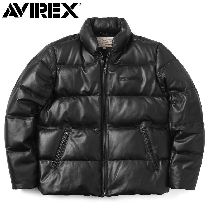 AVIREX アビレックス 6181057 シープスキン ダウンジャケット【クーポン対象外】