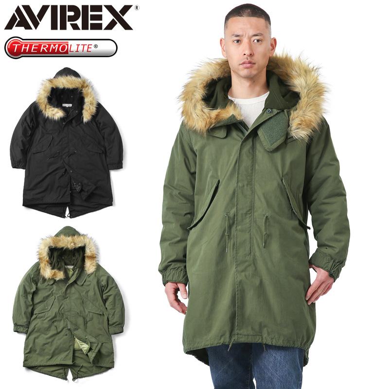 AVIREX アビレックス 6182221 M-65 フィールド パーカー【クーポン対象外】