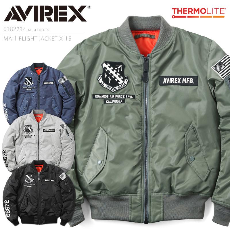 AVIREX アビレックス 6182234 MA-1フライトジャケット X-15【クーポン対象外】