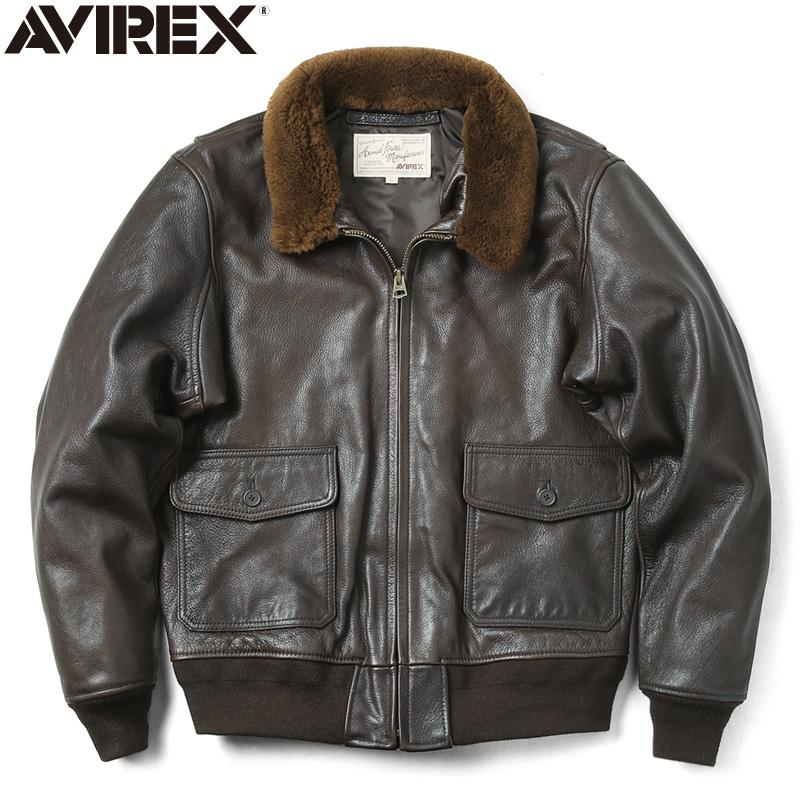 AVIREX アビレックス 6191069 ゴートスキンレザー G-1 フライトジャケット【クーポン対象外】