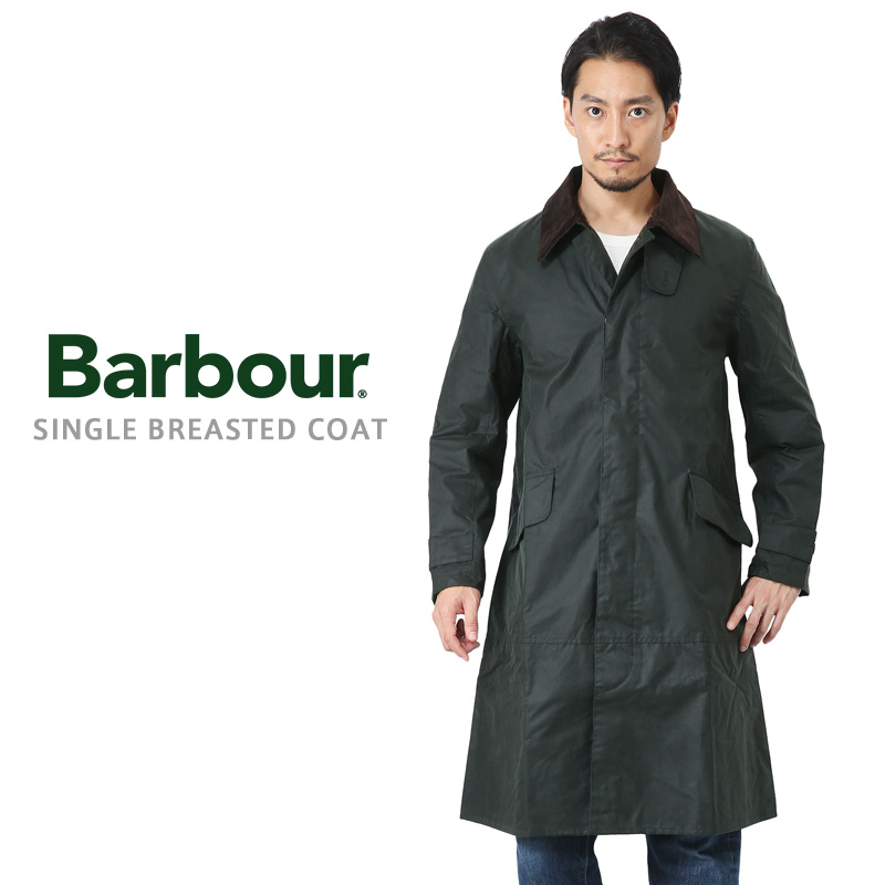 Barbour バブアー MWX1358 SINGLE BREASTED コート【Sx】