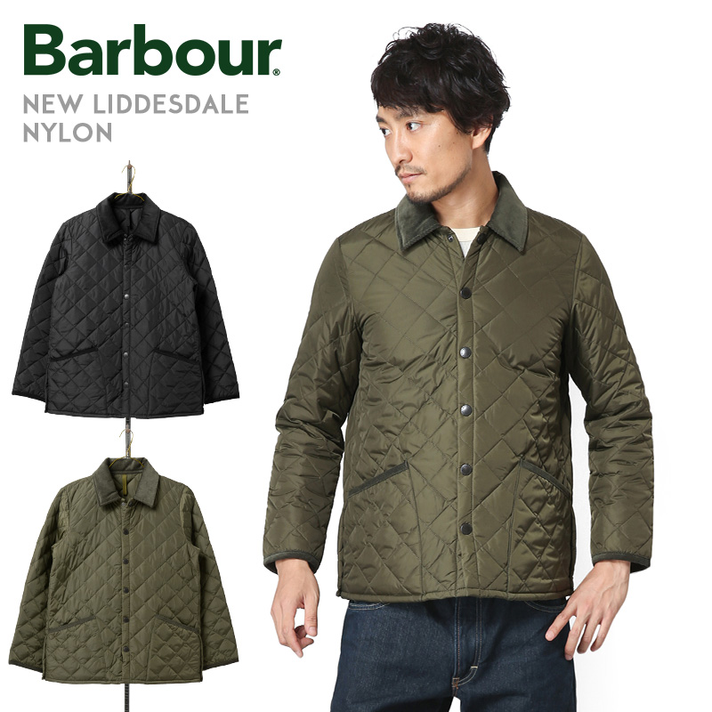 Barbour バブアー SMQ0001 NEW LIDDESDALE NYLON(ニューリッズデイル ナイロン)キルティングジャケット【Sx】