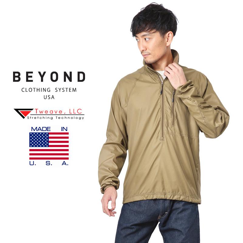 【20%OFFクーポン対象】BEYOND CLOTHING ビヨンド クロージング A4 WIND SHIRTS ウィンド シャツ【44078】