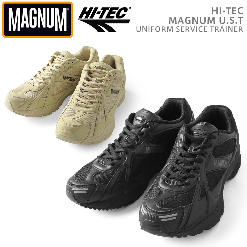HI-TEC 捧呈 MAGNUM U.S.T タクティカルシューズ クーポンで15%OFF T ハイテック 舗 マグナム
