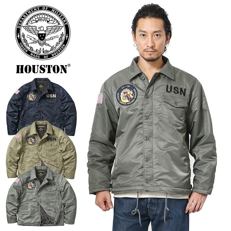 HOUSTON ヒューストン 50914 CUSTOM A-2デッキジャケット