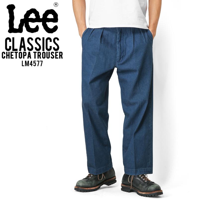 Lee リー LM4577 CLASSICS CHETOPA TROUSER 336 Mid Used