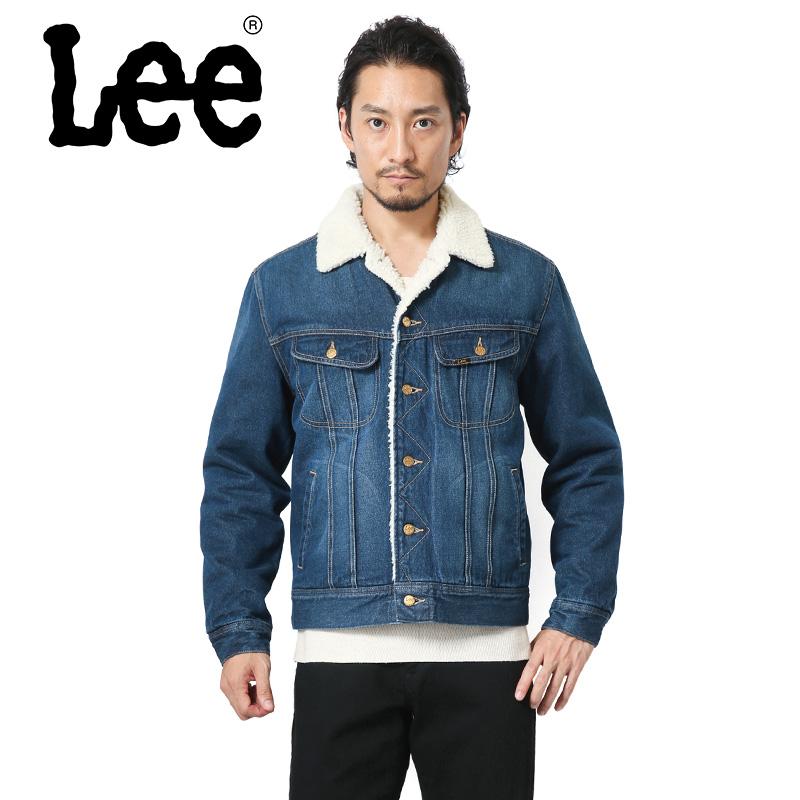 38%OFF大特価!Lee リー LT0647-136 デニム ボアストームライダー ジャケット【クーポン対象外】