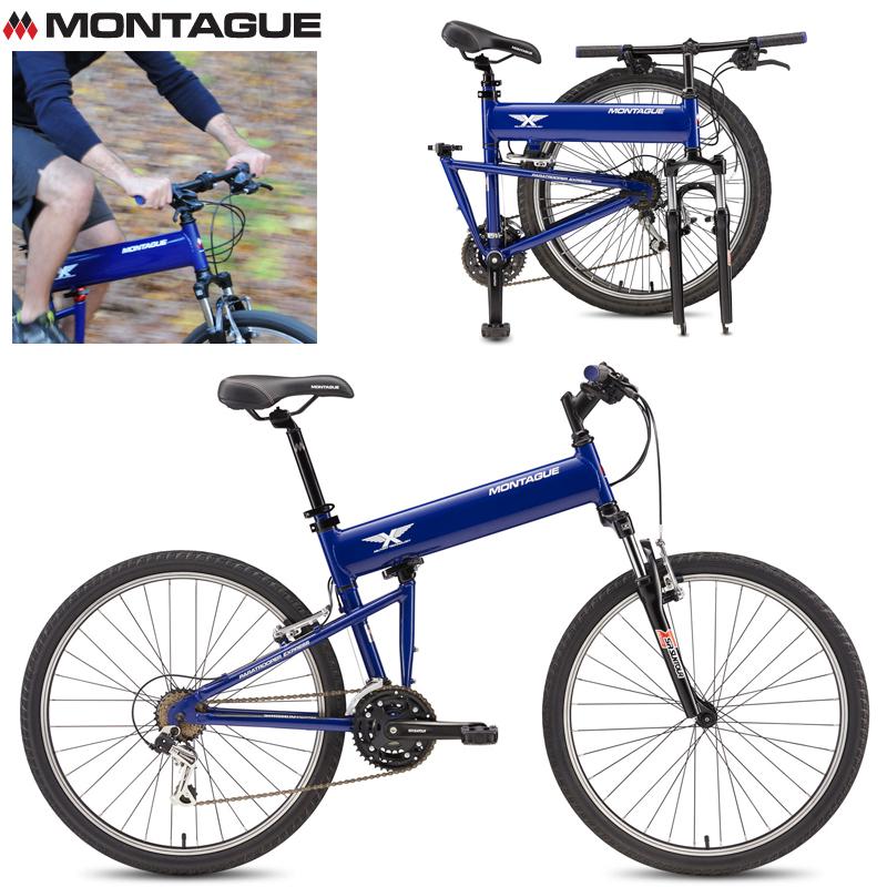 MONTAGUE モンタギュー PARATROOPER Express パラトルーパーエクスプレス マウンテンバイク 折りたたみ自転車【クーポン対象外】【個別送料】