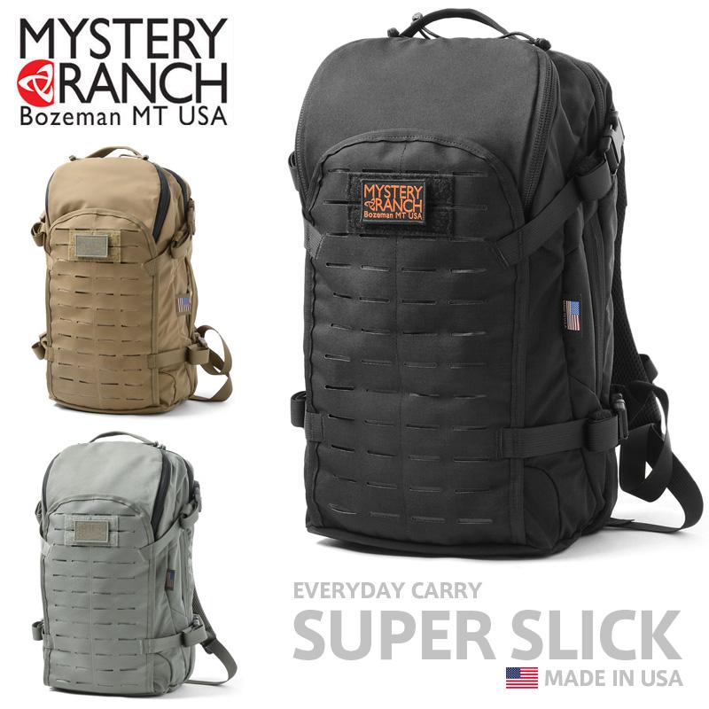 【正規取扱店】MYSTERY RANCH ミステリーランチ SUPER SLICK スーパースリック バックパック MADE IN USA【クーポン対象外】