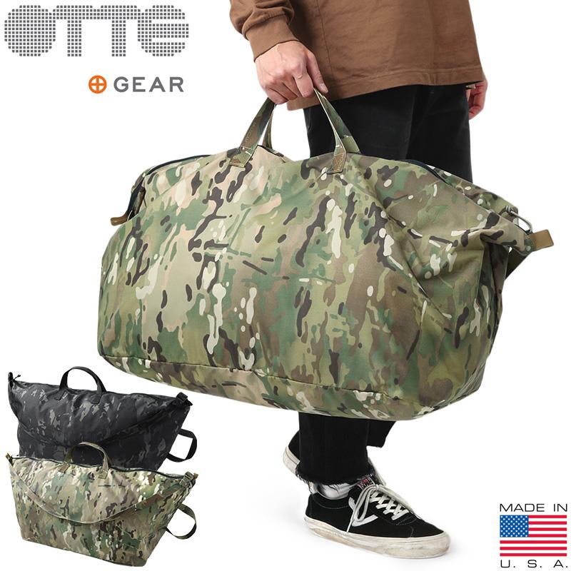 【10%OFFクーポン対象!】OTTE GEAR オッテギア OTTEBG001 Heist SSE Bag(ハイスト SSE バッグ) MADE IN USA / ショルダーバッグ ボストンバック