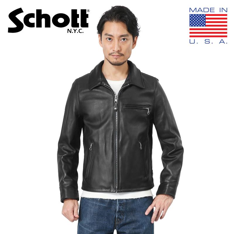 Schott ショット 7209 103US レザートラッカージャケット(クーポン対象外)