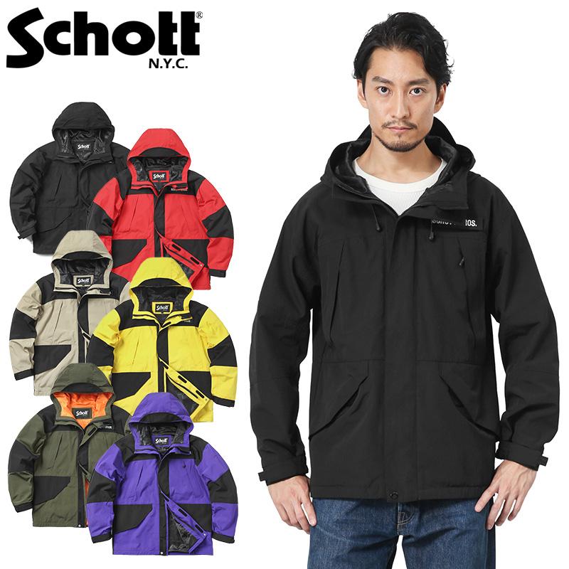 Schott ショット 3182013 2TONE フィールドパーカ / マウンテンパーカ(クーポン対象外)