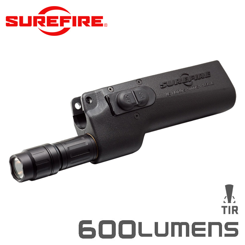 SUREFIRE シュアファイア 628LMF-A 2Batteries 2Switches LEDウェポンライト / 500ルーメン for H&K MP5 / HK53 / HK94【クーポン対象外】