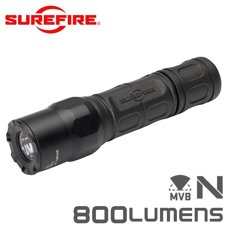 SUREFIRE シュアファイア G2X WITH MAXVISION Dual-Output LEDフラッシュライト / 800ルーメン(G2X-MV)【クーポン対象外】