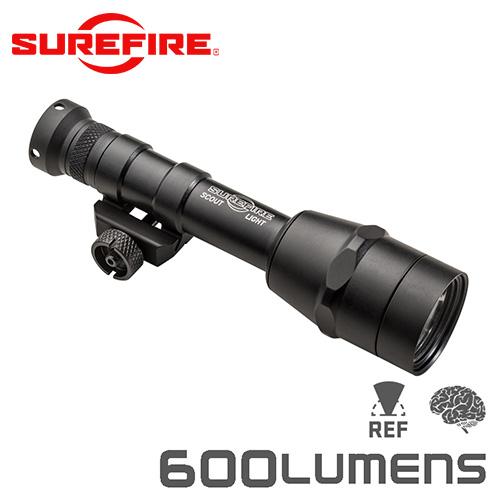 SUREFIRE シュアファイア M600IB IntelliBeam Technology LEDスカウトライト / ウェポンライト 600ルーメン(M600IB-Z68-BK)【クーポン対象外】