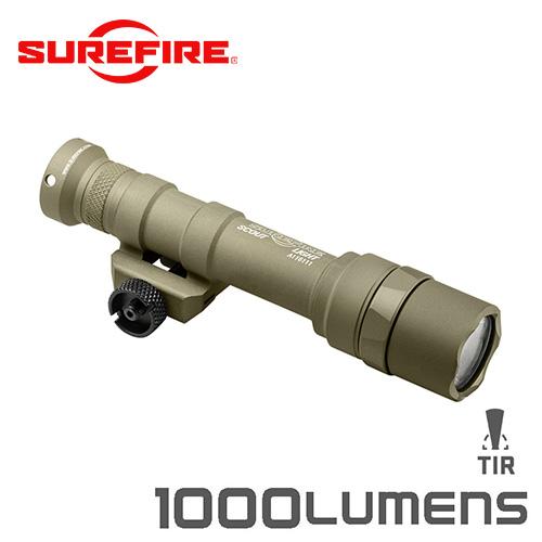 SUREFIRE シュアファイア M600 ULTRA LEDスカウトライト / ウェポンライト 1000ルーメン(M600U-Z68-TN)【クーポン対象外】