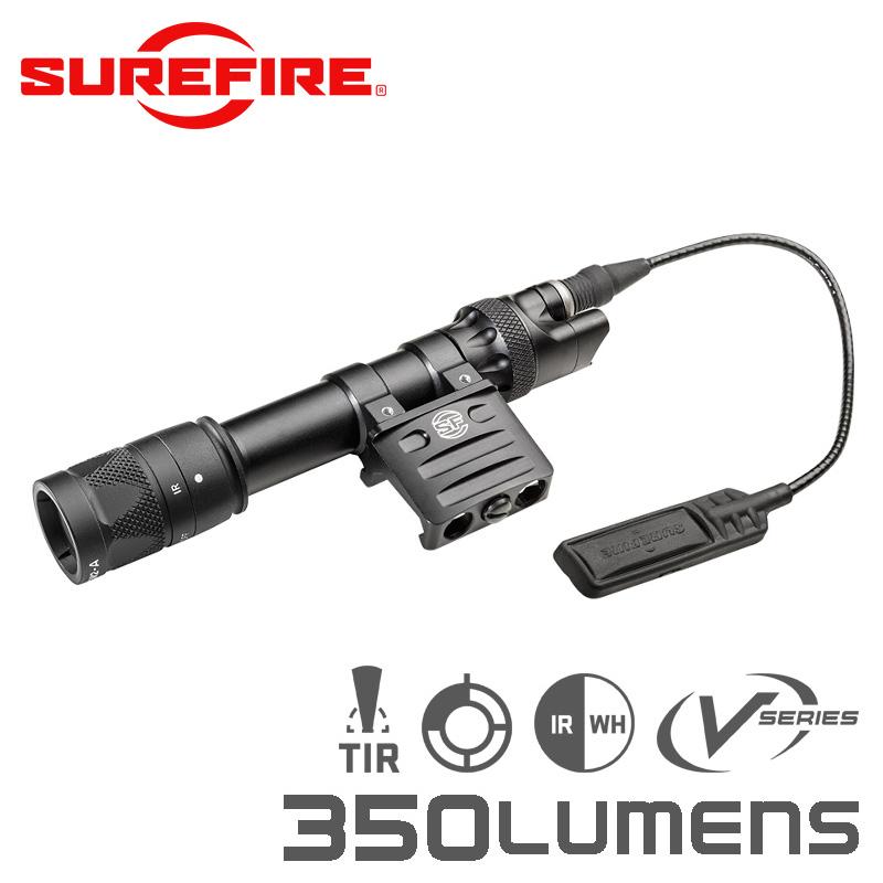 SUREFIRE シュアファイア M612V IR LEDスカウトライト / ウェポンライト 350ルーメン(M612V-BK)【クーポン対象外】