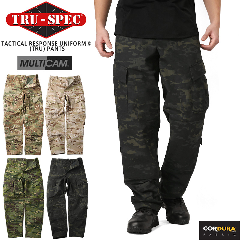 TRU-SPEC トゥルースペック Tactical Response Uniform パンツ MULTICAM FAMILY 1266 MultiCam / 1321 Arid / 1323 Tropic / 1226 Black 【クーポン対象外】