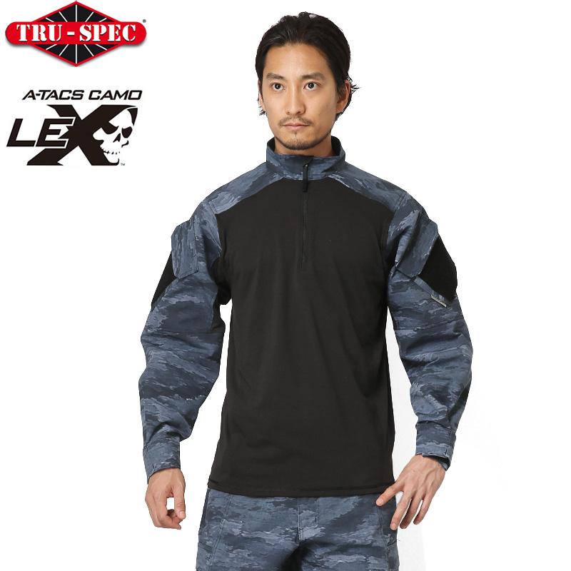TRU-SPEC トゥルースペック URBAN FORCE TRU 1/4 ZIP コンバットシャツ A-TACS LE-X [2600] 【クーポン対象外】