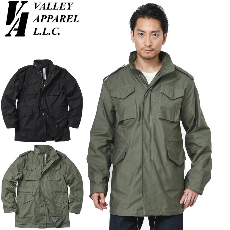 【店内20%OFFセール開催中】Valley Apparel バレイアパレル M-65フィールドジャケット