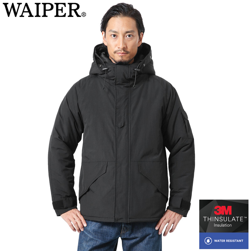 WAIPER.inc 新品 米軍 ECWCS Gen1 INSULATED パーカー THINSULATE WATER RESISTANT【WP48】【Sx】