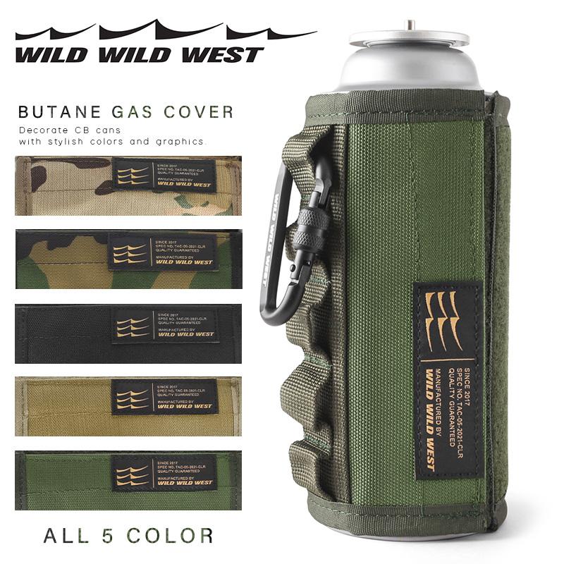 WILD WESTのCB缶カバー WEST ワイルドワイルドウエスト Butane Gas 新品未使用 直営店 CB T CB缶カバー Cover Sx