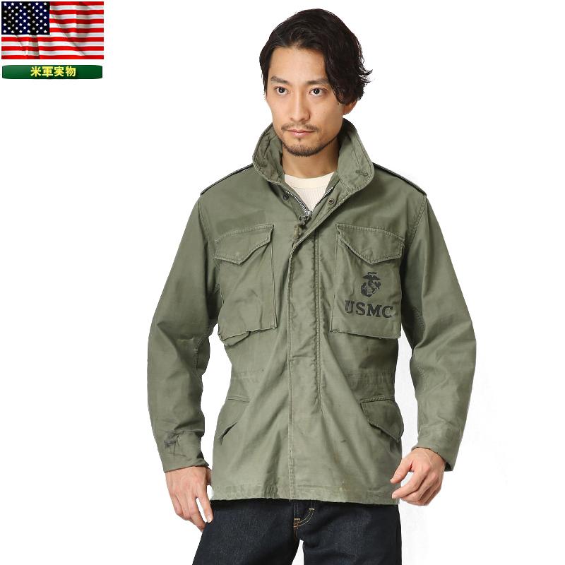 実物 米軍G.I. M-65フィールドジャケット 2nd Model USED 【クーポン対象外】