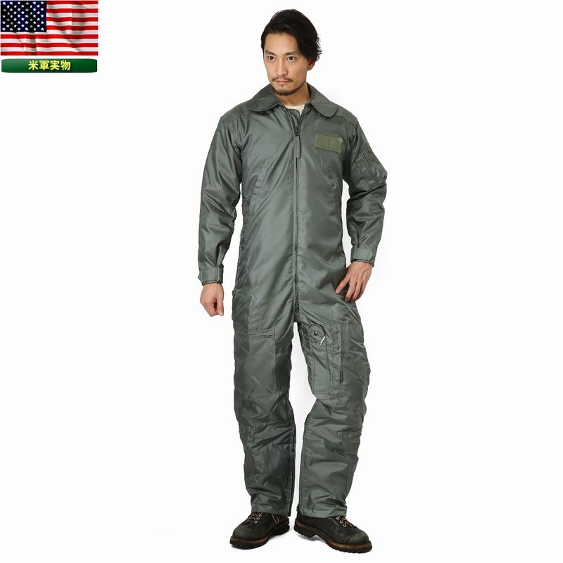 実物 新品 米軍CWU-64/P NOMEX フライトスーツ 《WIP03》【Sx】