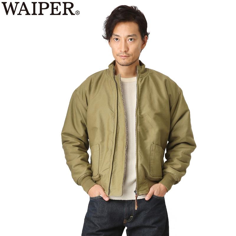新品 米軍 前期型 タンカースジャケット WAIPER.inc TAN WP32【Sx】