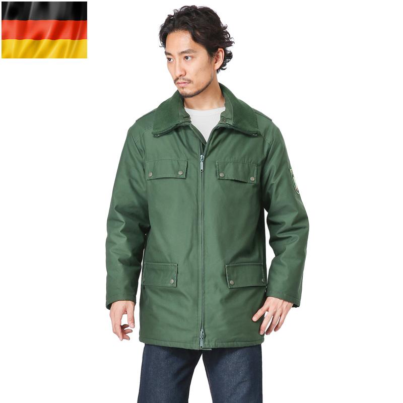 実物 ドイツBGS(連邦国境警備隊) MODEL 1 ジャケット W/LINER USED【Sx】