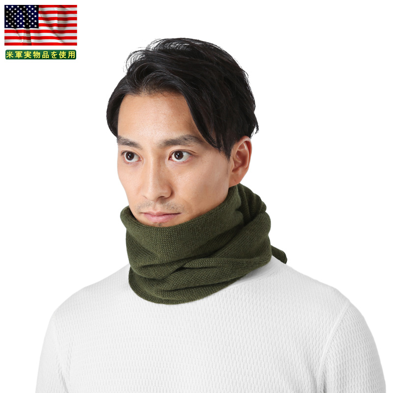 Military scarf called real brand new US Army wool scarf OD tube scarf and  also very warm and good feel better 47cea87e3db