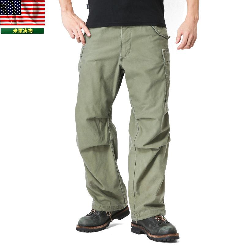 実物 米軍 M-65フィールドカーゴパンツ USED アルミジッパー 【クーポン対象外】 #m65cargopants