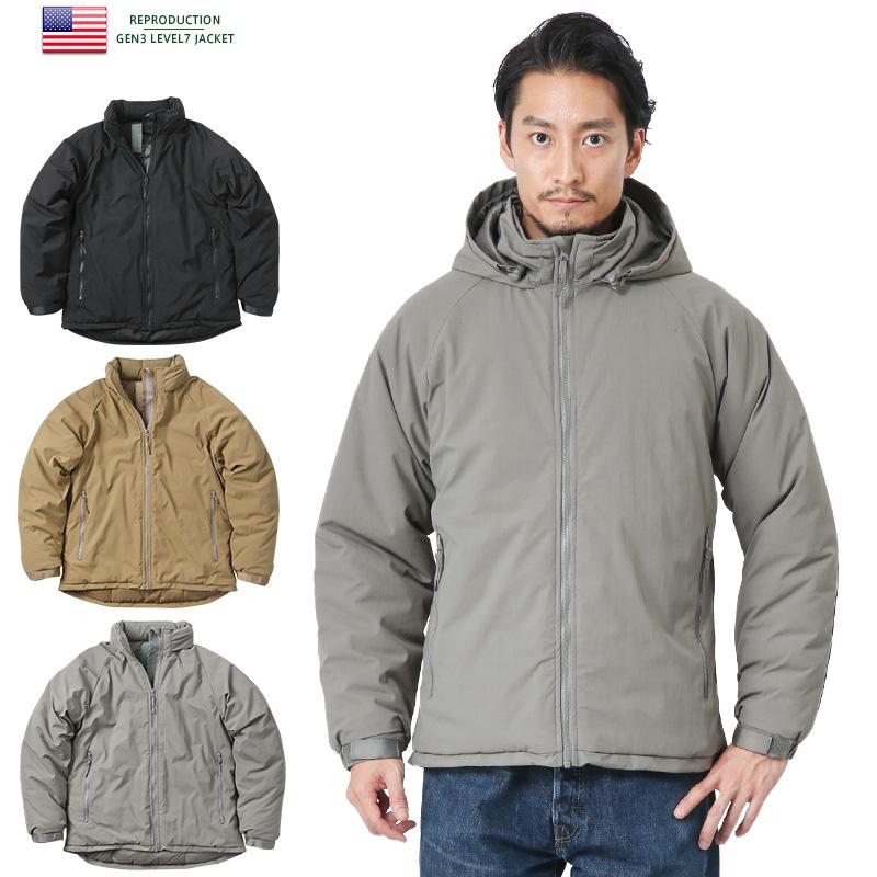 新品 米軍 PCU GEN3 LEVEL7 ジャケット《WIP03》レベル7 アウター 中綿 防寒 ミリタリー 大きいサイズ メンズ