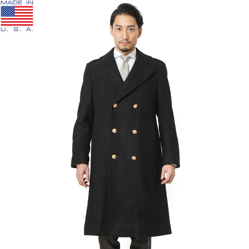 MADE IN USA 米海兵隊 USMC ウールオーバーコート