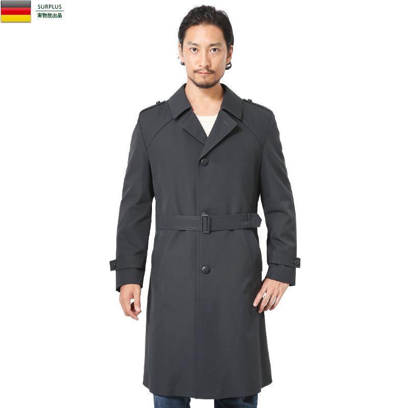 実物 新品 東ドイツ軍 NVA シングル グレーオーバーコート【Sx】