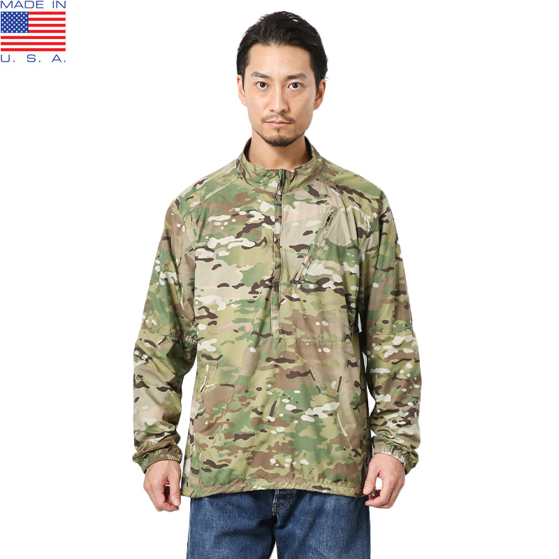 MADE IN USA 新品未使用 WT TACTICAL プルオーバー ウインドシャツ WT 1.0 MultiCam【クーポン対象外】